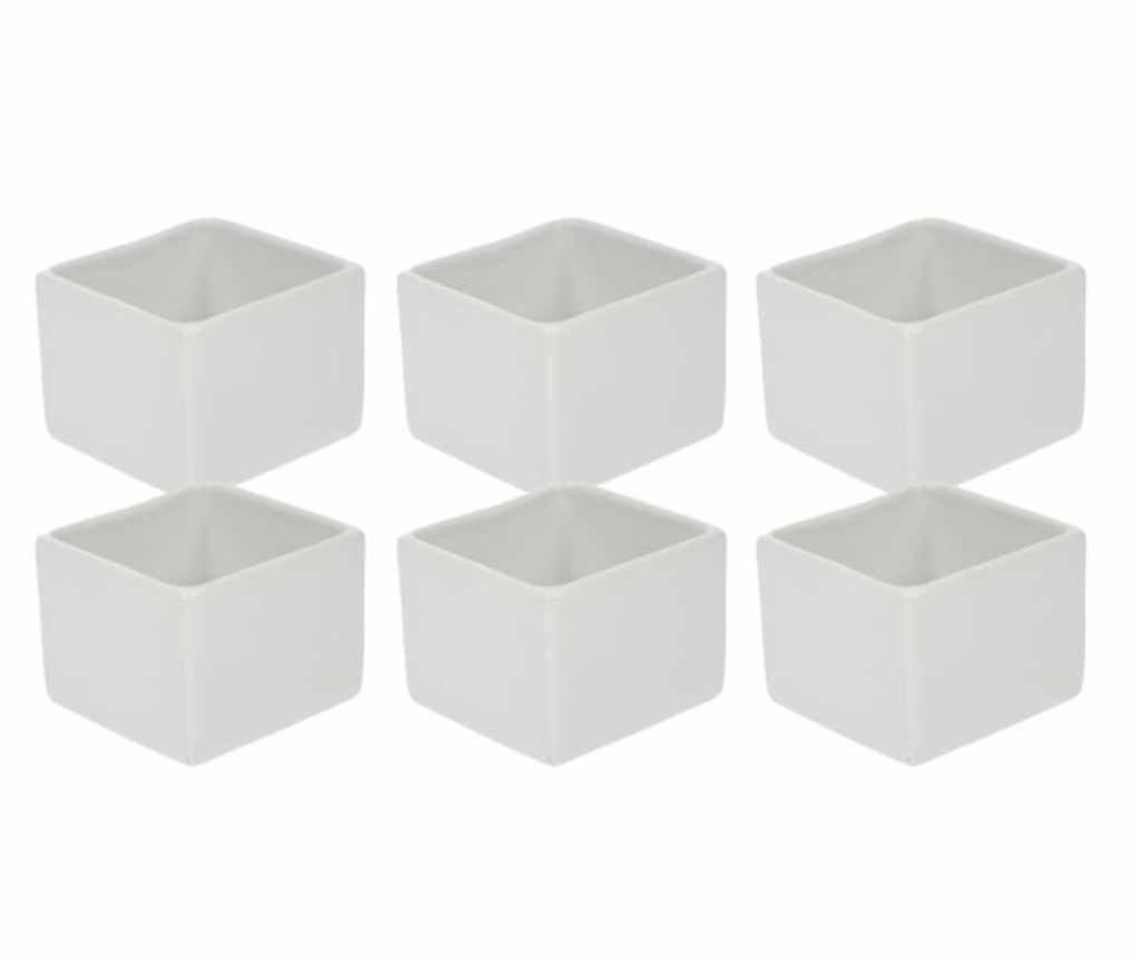 Set 6 zdjela za predjela Cube