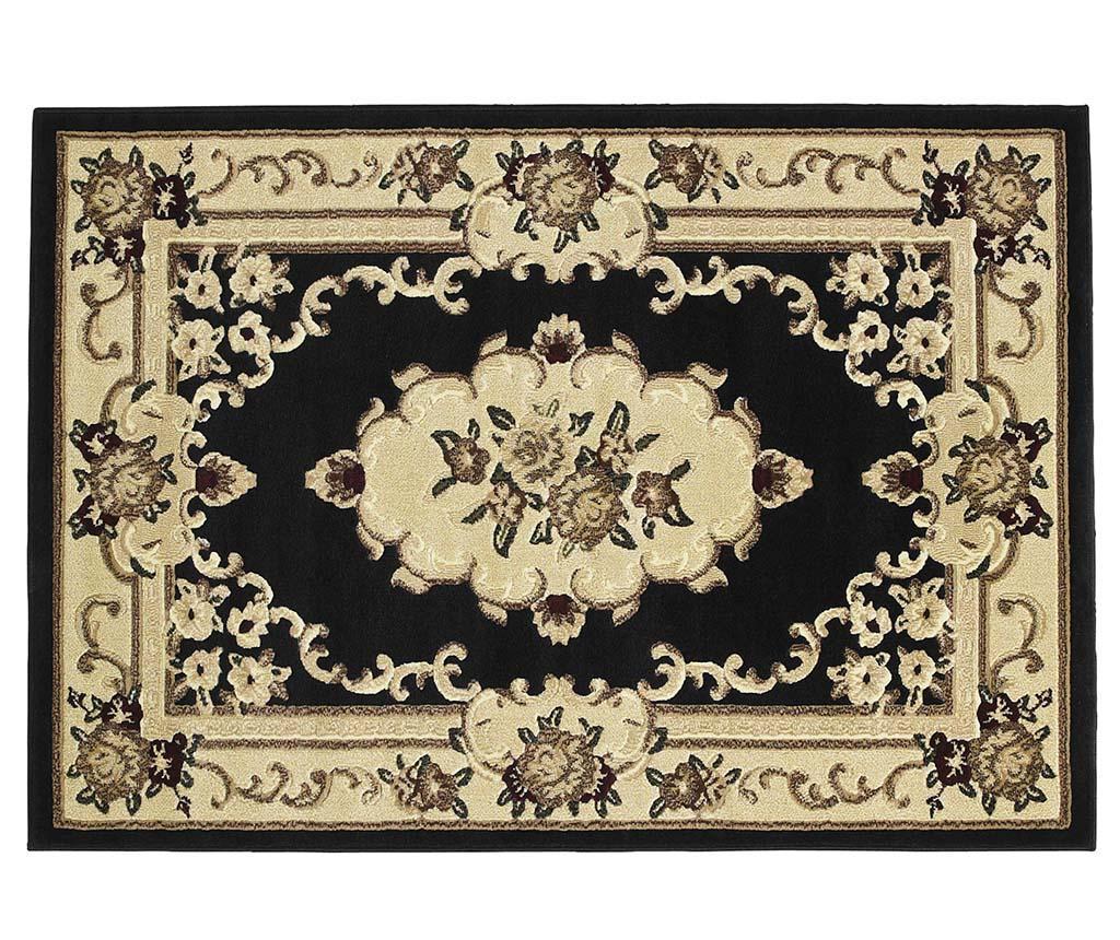 Covor Marrakesh Black 60x105 cm - Think Rugs, Negru