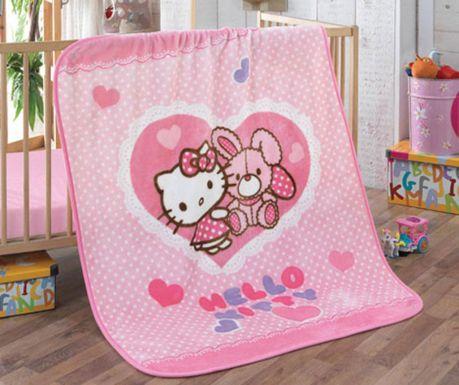 Lezárult akció Hello Kitty Rabbit Takaró gyerekeknek 100x120 cm d860729dab