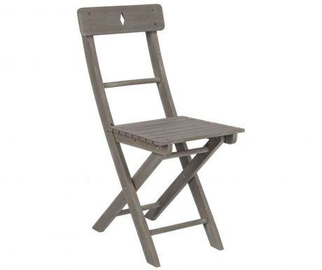 Stolica za vanjski prostor Balcony Grey