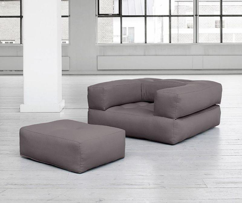 Fotelja na razvlačenje Cube  Grey