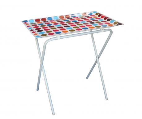 Skládací stolek s podnosem Spots