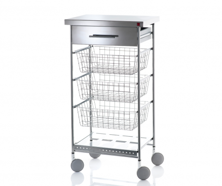 Kuchyňský vozík Afinity Inox