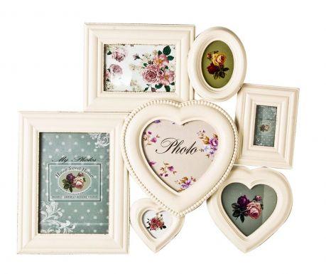 Okvir za 7 fotografij Charming Roses