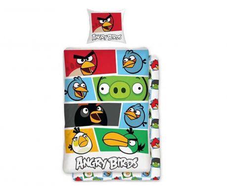 Lezárult akció Ranforce Angry Birds Portrait Gyerek Ágynemű 140x200 cm a64cee49f2