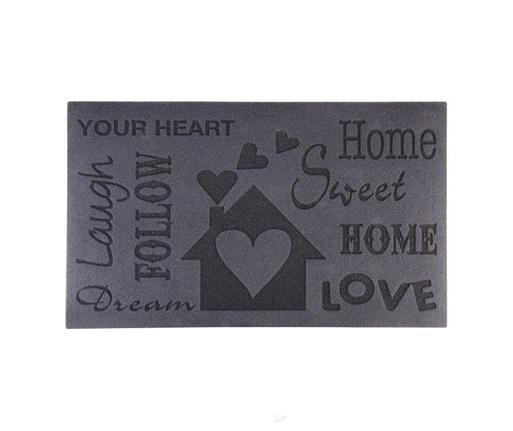 Входна изтривалка Home Sweet Home 45x75 см