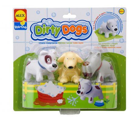 Set 3 jucarii Dirty Dogs