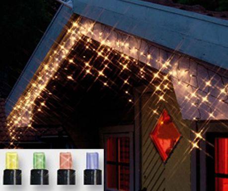 Светеща завеса за екстериор Light Pearls Colours