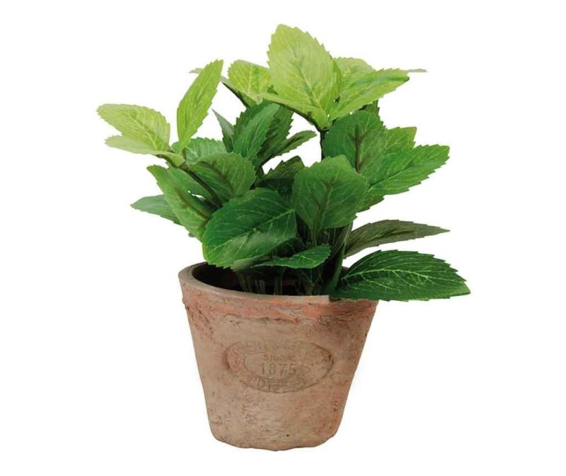 Umělá rostlina v květináči Mint