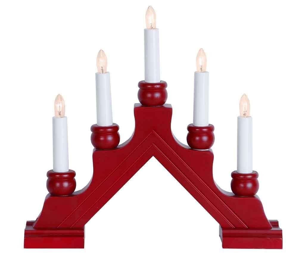 Svjetleći ukras Karin Red