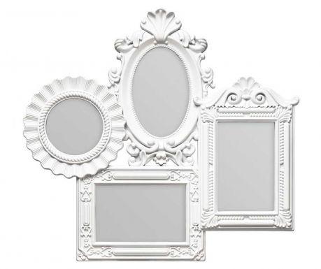 Рамка за 4 снимки Multi White