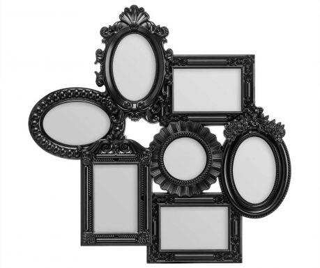 Рамка за 7 снимки Multi Black