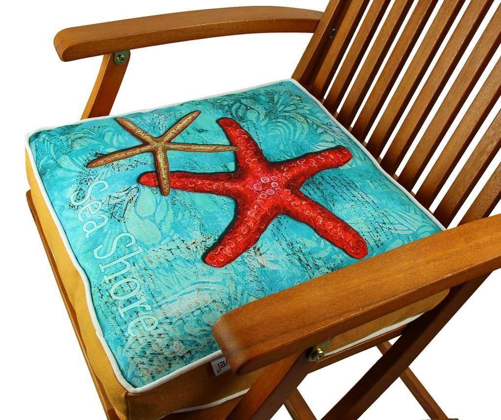 Jastuk za sjedenje Red Starfish 42x42 cm