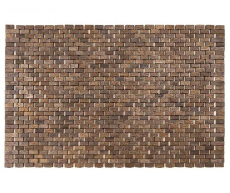 Drewniana mata łazienkowa Sonia Grey 45x70 cm