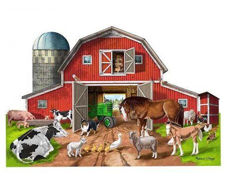 Puzzle podłogowe 32 elementy Animal Farm