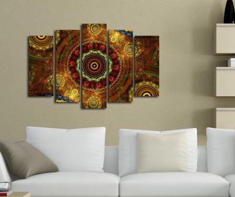 Set 5 slika Oriental