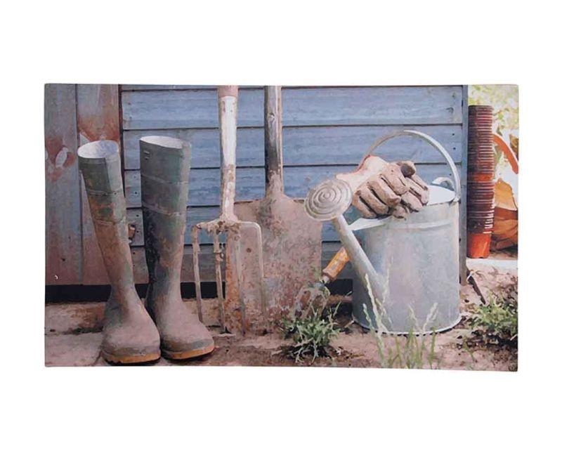 Covoras de intrare Garden Shed 45x76 cm