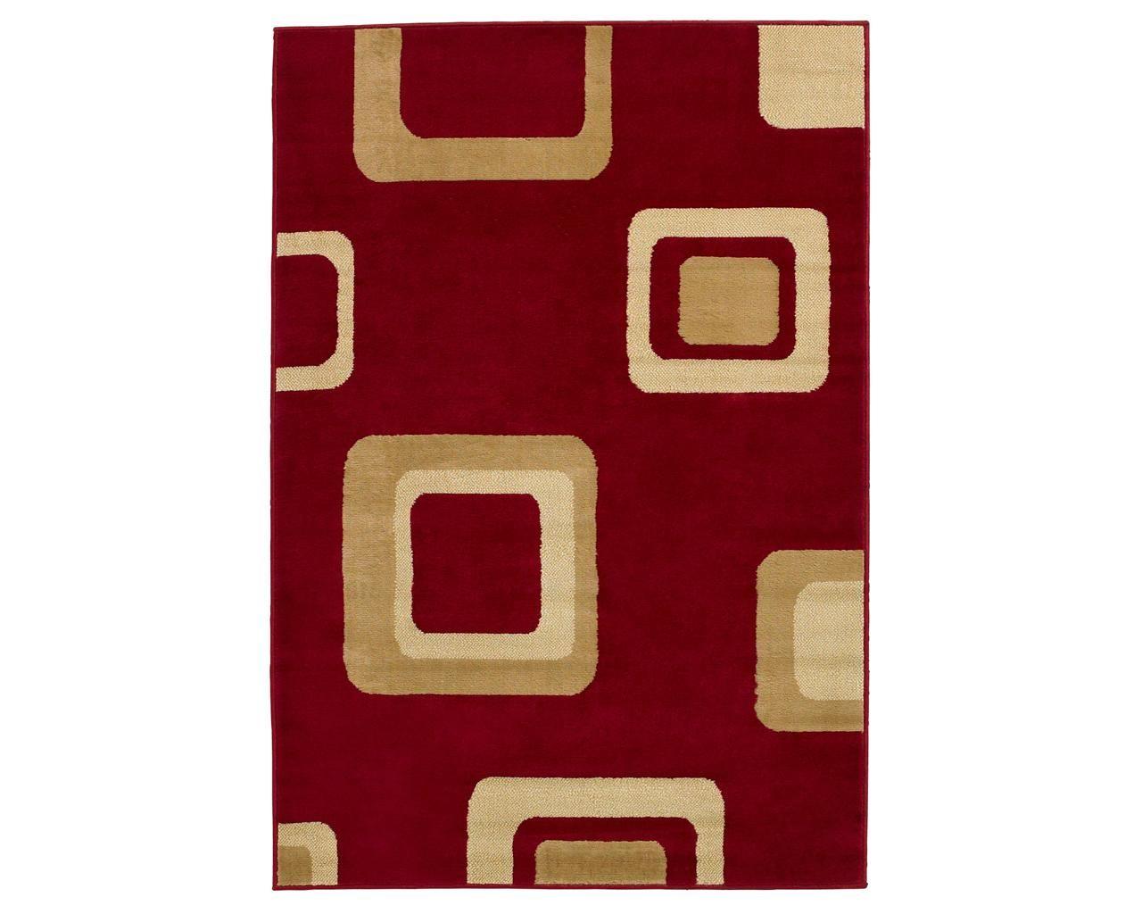 Covor Diamond Red 160x220 cm