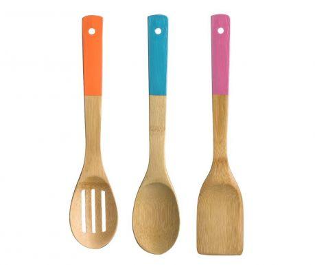 Sada kuchynského náradia, 3 ks Rainbow