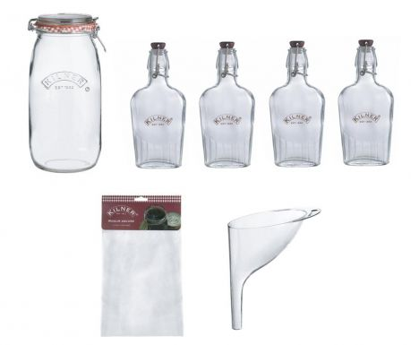 7-delni set za pijačo Gin and Liqueurs