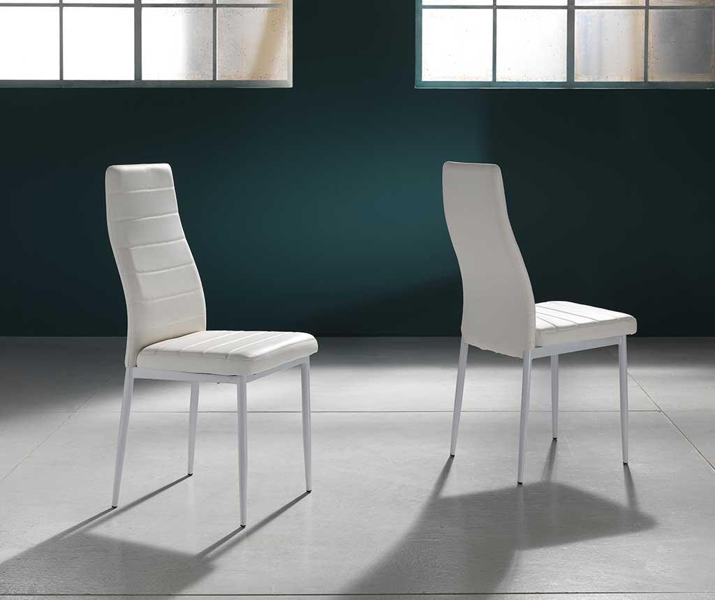 Set 4 scaune Camaro White - Tomasucci, Alb