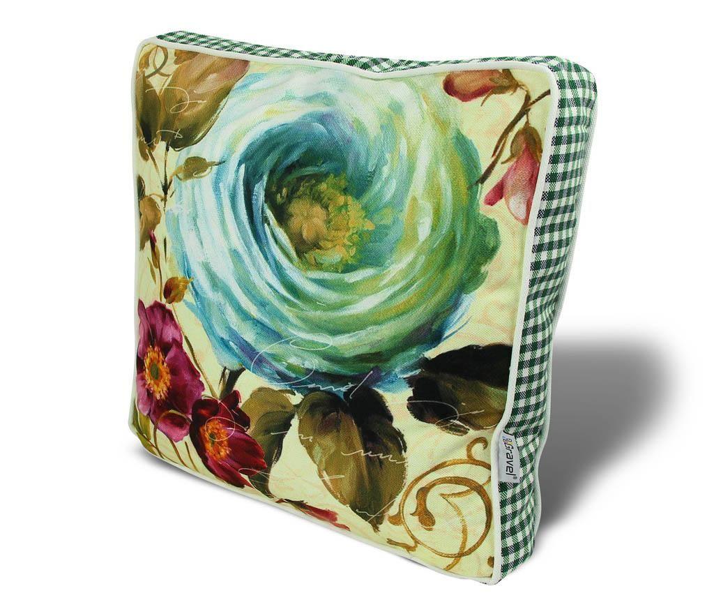 Jastuk za sjedalo Aquatic Petals 42x42 cm