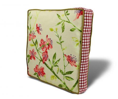 Vankúš na stoličku Gentle Flowers 42x42 cm