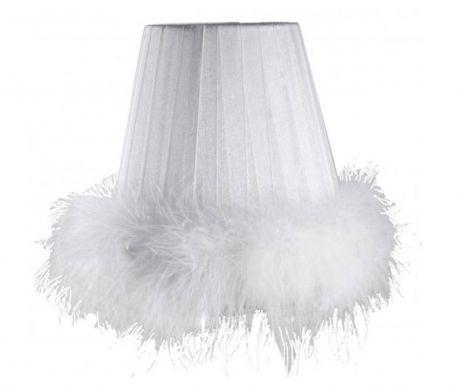Senčilo za svetilko White Feathers