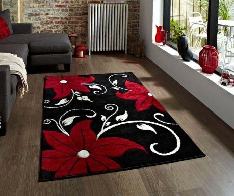 Tepih Verona Black and Red