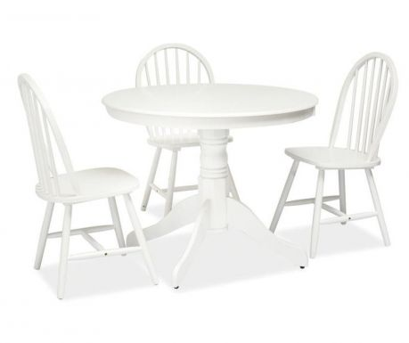 Table Windsor White