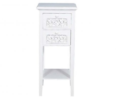 Side table with 2 drawers Calypso