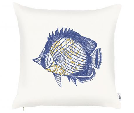 Poszewka na poduszkę Fish 43x43 cm