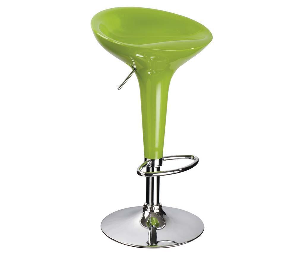 Scaun de bar Kora Green - Signal, Verde