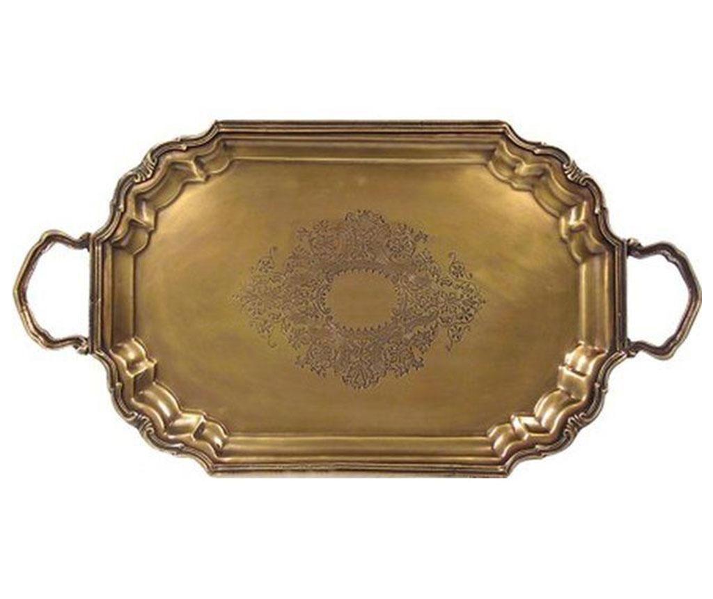 Servírovací podnos Antique Brass