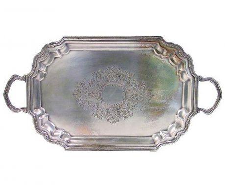 Taca do serwowania Antique Silver