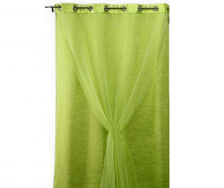 Dvojitý závěs Living Colours Green 140x280 cm