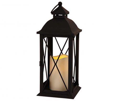 Фенер с LED свещ Zaza Black