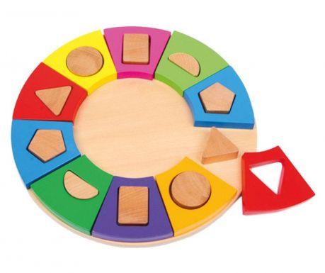 Играчка за съвпадане на форми Circle