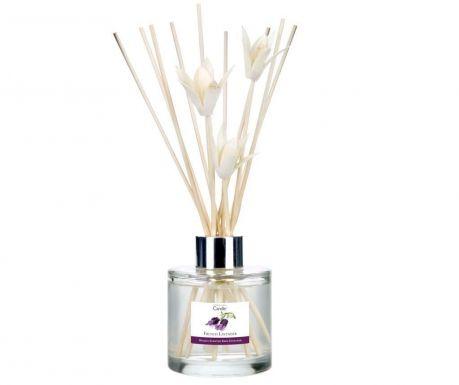 Αρωματικό χώρου με αιθέρια έλαια και ξυλάκια Elegance French Lavender 100 ml