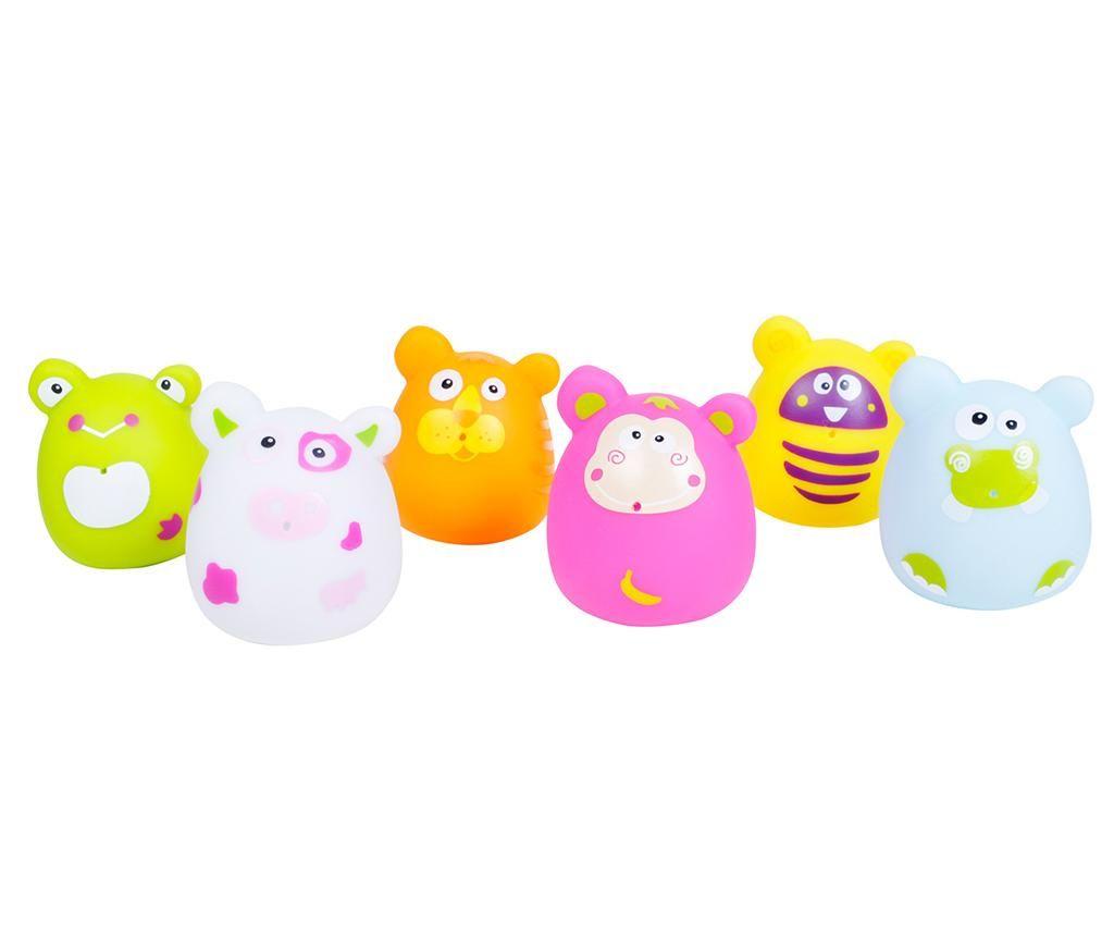 Set 6 igračk za kopalno kad Bubbies