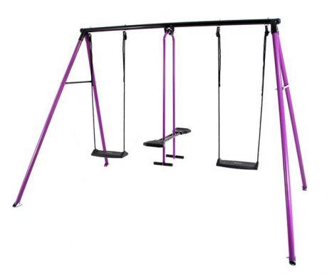 Leagan 3 locuri copii Can-Can Classic Purple