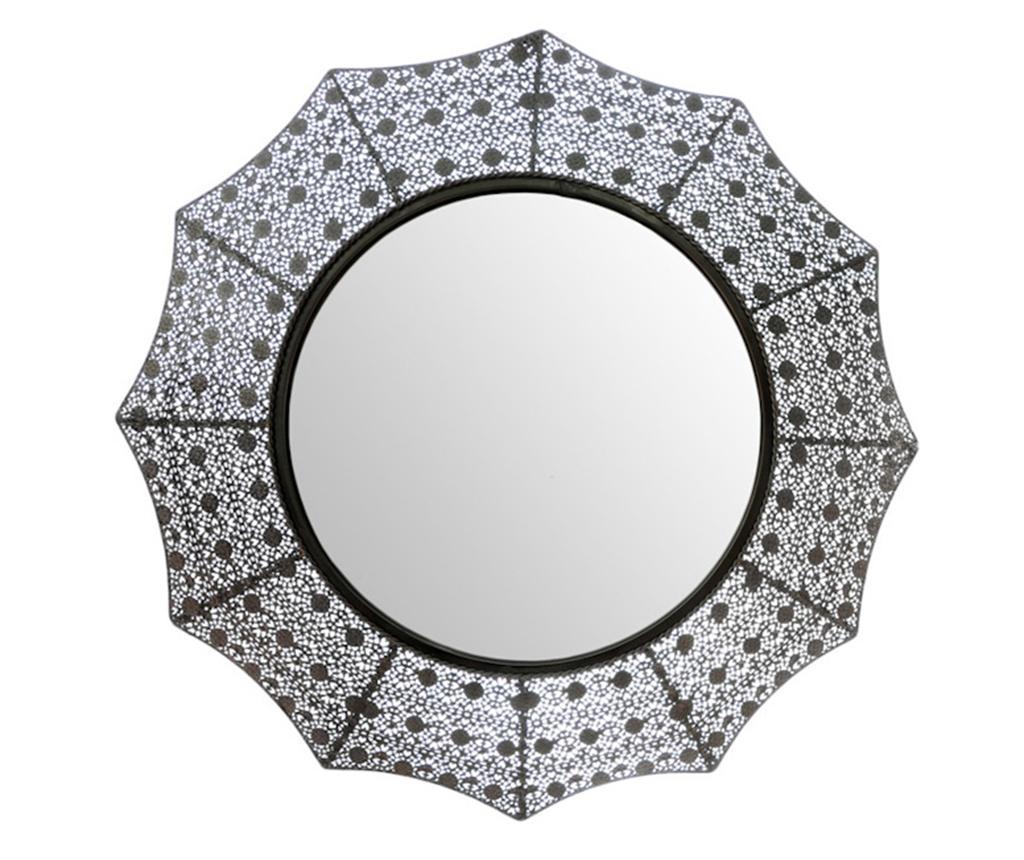Oglinda Starburst - Bettina, Gri & Argintiu