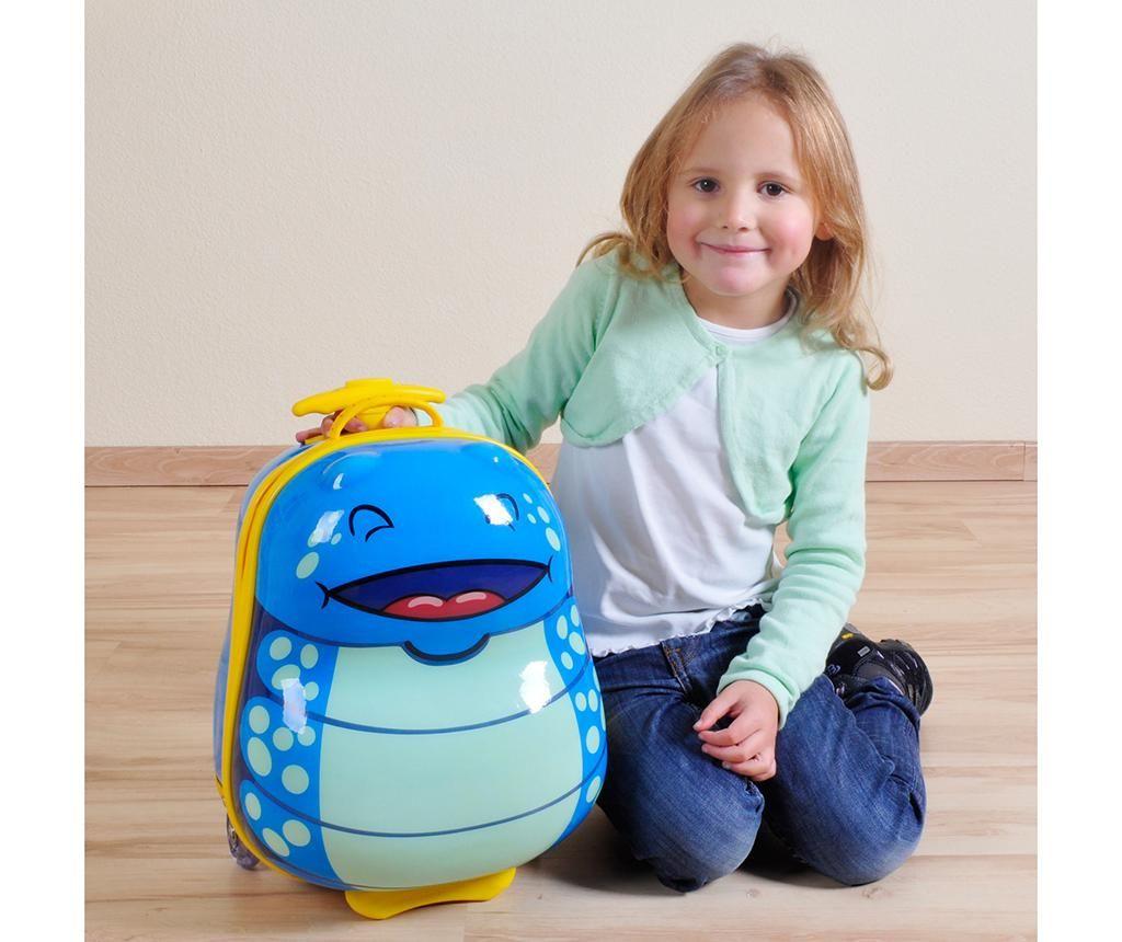 Otroški kovček Bouncie Bug Ocean 13 L