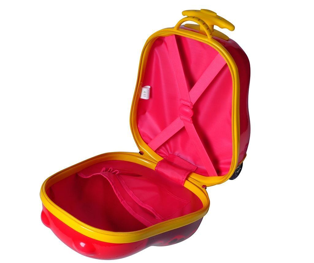 Otroški kovček Bouncie Bug Cherry 13 L