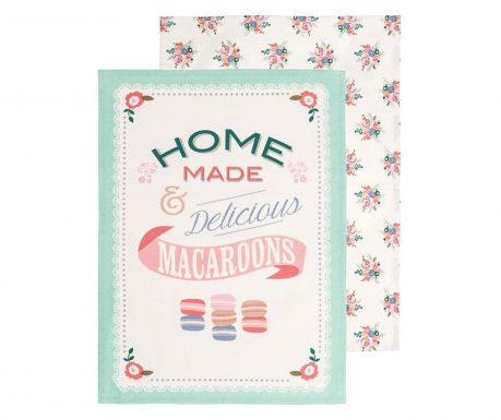 Set of 2 kitchen towels Amelie 40x60 cm