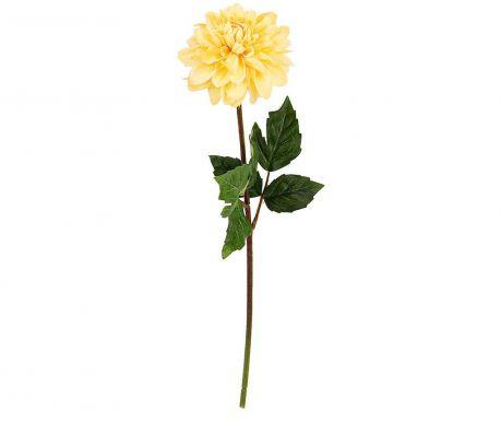 Umělá květina Dalia Yellow