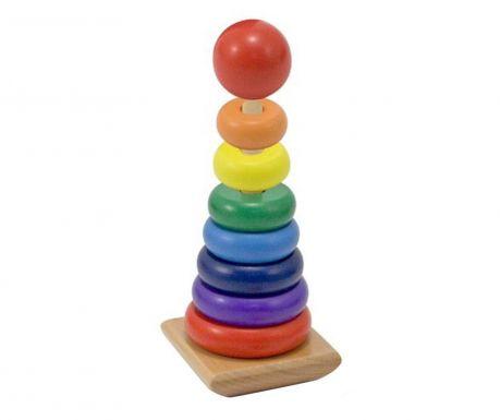 Igračka piramida Rainbow Pyramid