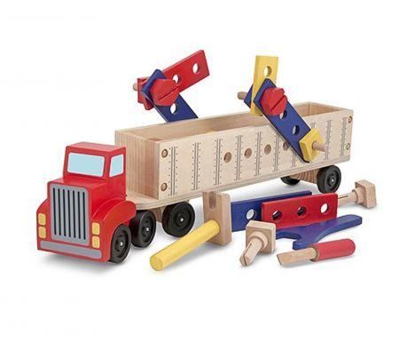 Big Rig Játék kamion és 21 db kiegészítő