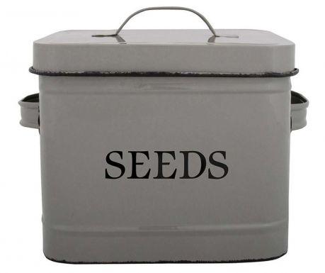 Posuda sa poklopcem Seeds Grey 3.6 L