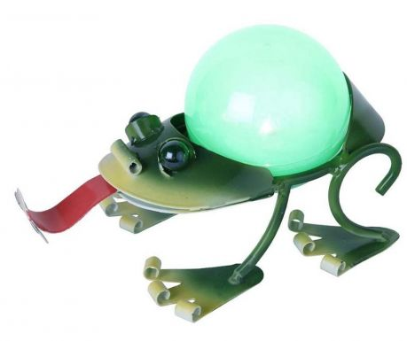 Lampa solara Frog Tongue